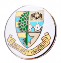 Heriot Watt University, Edinburgh Pin Badge (1433)
